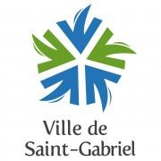 Logo Ville de St-Gabriel (vertical)